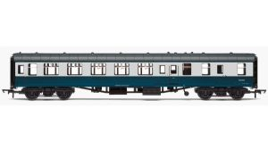 Hornby R4777 BR Mark 1 Brake 2nd Open (BSO), Blue/Grey Livery